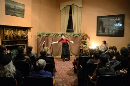 Niki na Meadhra @ Enchanted Evening, Abbotsford Convent, 2012. Photo c. Charlie Sublet