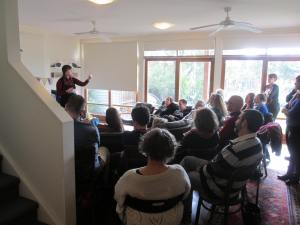 Niki na Meadhra @ Newport House Concert, August, 2015.